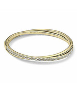 Michael Kors Bracelet Crystallized Criss Cross Bangle NEW $165 - $123.75