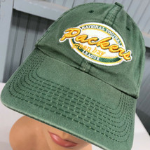 Green Bay Packers Retro Logo Reebok Strapback Baseball Cap Hat - $15.59