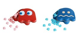 Pac-Man Video Game Ghost Shaped Candy in Blinky Metal Tins Set of Two SE... - $6.90