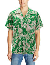 Men's Casual Tropical Hawaiian Luau Aloha Revere Beach Button Up Dress Shirt image 4