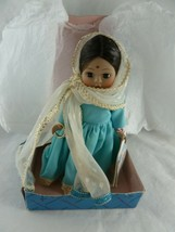 """Vintage Madame Alexander Dolls of the world Collection INDIA  8"""" with stand - $26.72"""