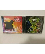 BEN 10 + FANTASIA ORIGINAL VIDEO GAME SOUNDTRACKS - FREE SHIPPING - $23.38