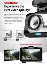 "Lukas LK-9370 Blackbox Dash Camera 2CH Full HD Wi-Fi 3.5""LCD Dual 8Gb+8Gb+GPS image 9"