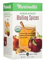 Martinellis, Spices Mulling Organic, 20 Fl Oz - £9.04 GBP