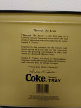 Coca Cola Tray by Sandra E Porter 1982 Through All The Years Since 1886 image 3