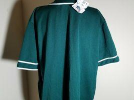 Oakland Athletics A's Jersey MLB Vintage Green Team Baseball Size XL image 8