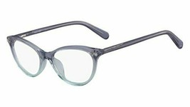 NEW NINE WEST NW 5152 430 Crystal Blue to Teal Fade Eyeglasses 49mm with Case - $59.35