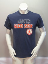 Boston Red Sox Shirt (VTG) - 1980s Logo 7 Classic Block Script - Men's L... - $35.00