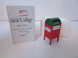 Dept 56 51985 Mail Box Metal Accessory Snow Village L142 - $9.75