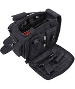 Black Padded Concealed Carry Specialist Gun Range Bag - $70.99
