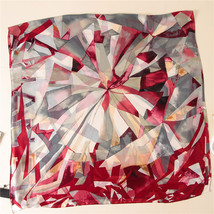 2018 luxury brand Women Silk scarf Beach Shawl and Echarpe Luxurious Wrap Design image 2