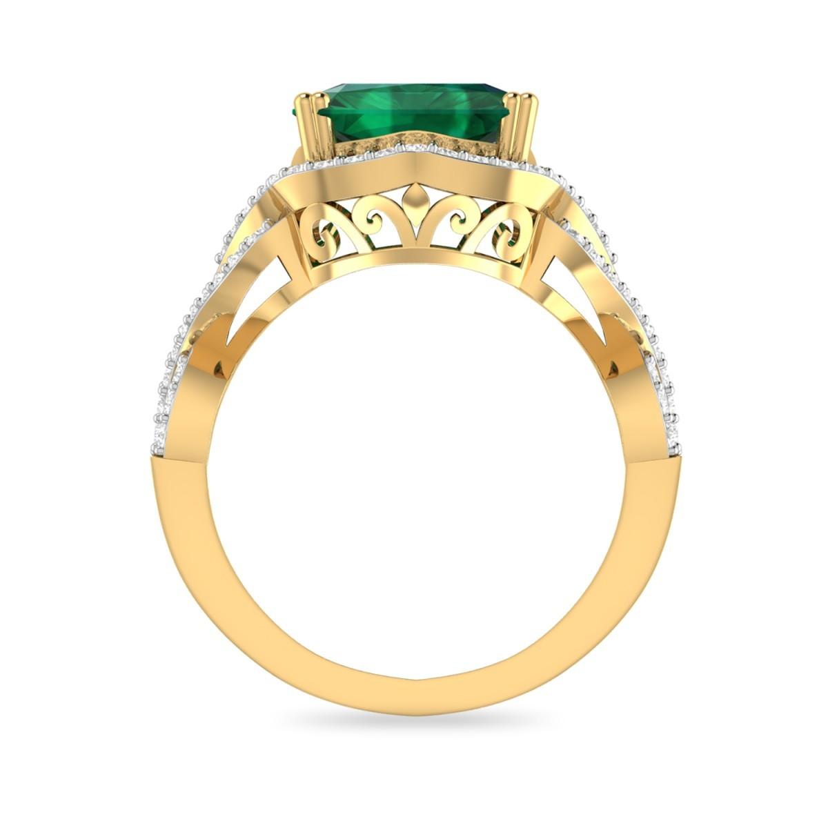 engagement ring diamond wedding ring emerald diamond