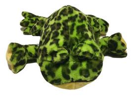 Webkinz Bullfrog Plush Stuffed Animal Toy No Code Polyester Fiber Plastic Pellet - $19.79