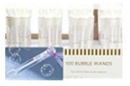 100 Special Occasion Ready Ring Bubble Wand Party Favors - £45.02 GBP