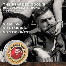 The Bearded Goon's Ridiculously Strong Beard and Handlebar Mustache Wax - 1oz 30 image 3