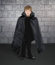 Child Vampire Cape Economy Halloween Costume Accessory PEVA Black - $5.96