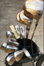 Golf Clubs Set Honma Star Driver+3/5Wood+Irons+Putter And Graphite Golf Shaft - $1,635.95