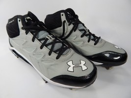 Under Armour Heater ST Mid Top Size 8 M EU 41 Metal Baseball Cleats 1248197-020