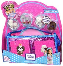 Just Play Puppy in My Pocket 9 Cute Puppy Carrier Set - $14.22