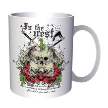 In the Nest Skulls on a Bed of Roses 11oz Mug x785 - $10.83