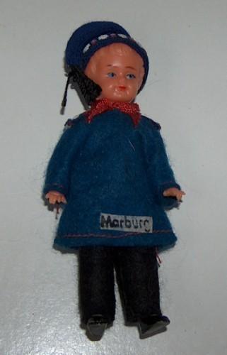 Marburg hard plastic doll