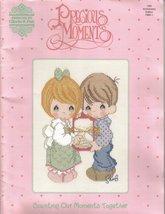 Precious Moments Counting Our Moments Together Cross Stitch Booklet 1993... - $9.99