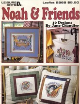 Noah and Friends Cross Stitch Booklet 10 by Jan... - $8.99