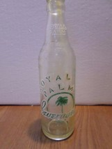 Vintage Royal Palm The Better Beverage 10 oz Glass Soda Bottle - $6.00