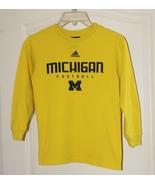 Michigan Football Shirt Jersey Size Youth Small 8-10 - $11.00