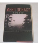 HC book Meritocracy - A Love Story by Jeffrey Lewis NEW - $3.00