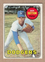 1969 Topps #216 Don Sutton Los Angeles Dodgers NM Near Mint cond. - $9.27