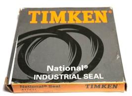 "NIB NATIONAL SEAL TIMKEN 417491 OIL SEAL 3.312"" X 4.376"" X 0.5"", 701257, 200605 image 1"