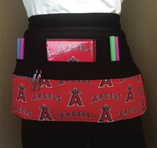 6 Pocket Waist Apron / MLB LA Angels  - $19.95