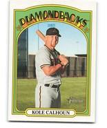 2021 Topps Heritage #75 Kole Calhoun NM-MT Diamondbacks - $0.99