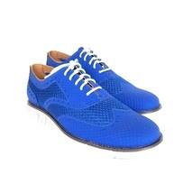 S-1793978 Neuf Cole HAAN Zerogrand Ox sans Stch Marlin/Bleu Basket Taille de - $160.67