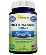 Nicotinamide with Resveratrol - NAD+ Booster (120 Veggie Capsules) - Vit... - $39.99