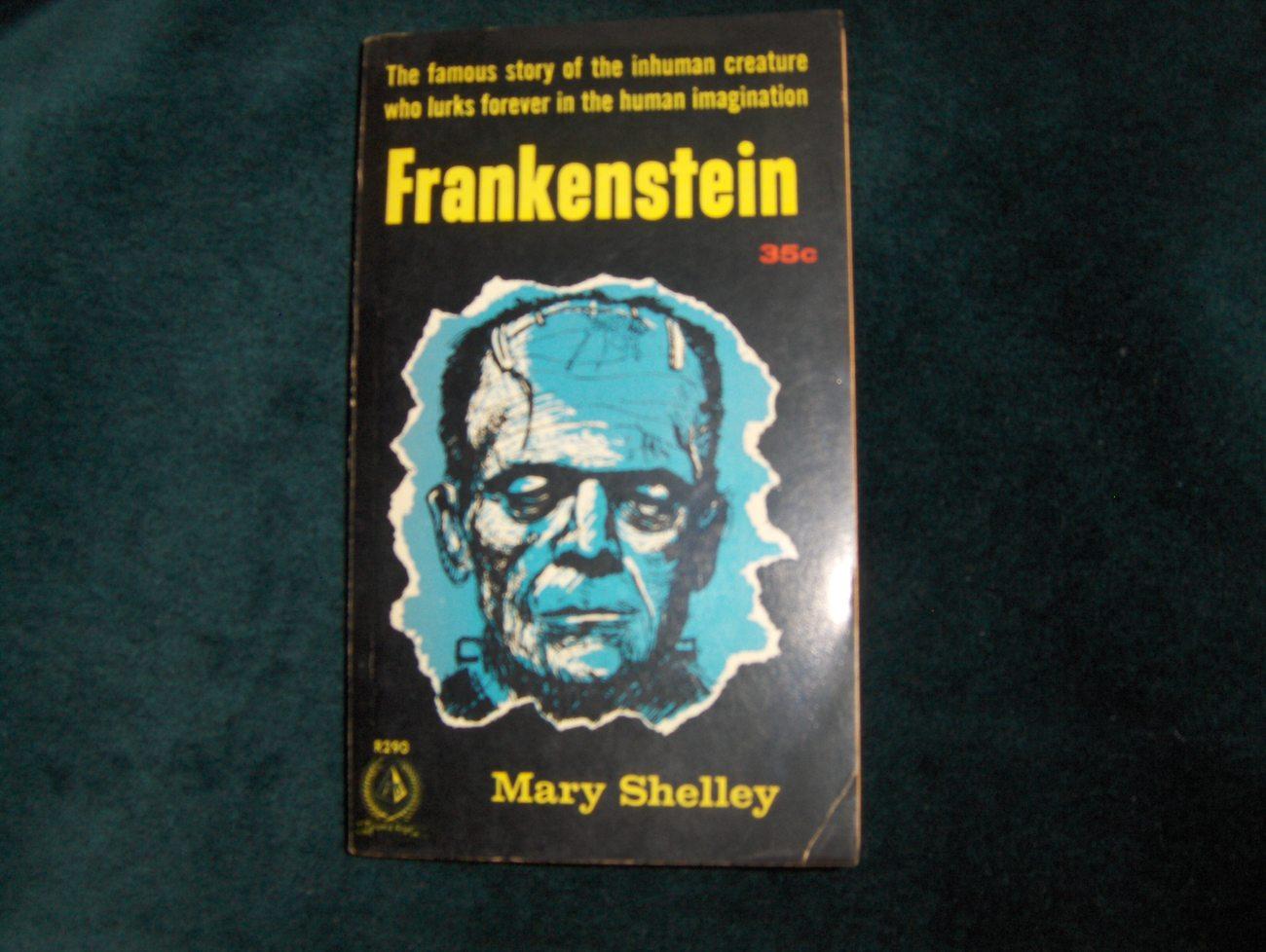 Mary Shelley Frankenstein Paperback 1957