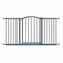 """Extra Wide Decor Safety Baby Gate, Gray – 27"""" Tall, Fits Openings of 28""""... - $113.33+"""