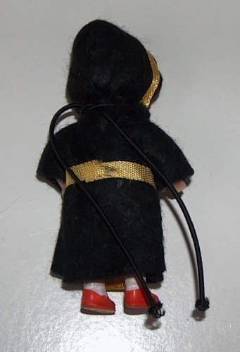 German Vintage Rubber Souvenir Doll