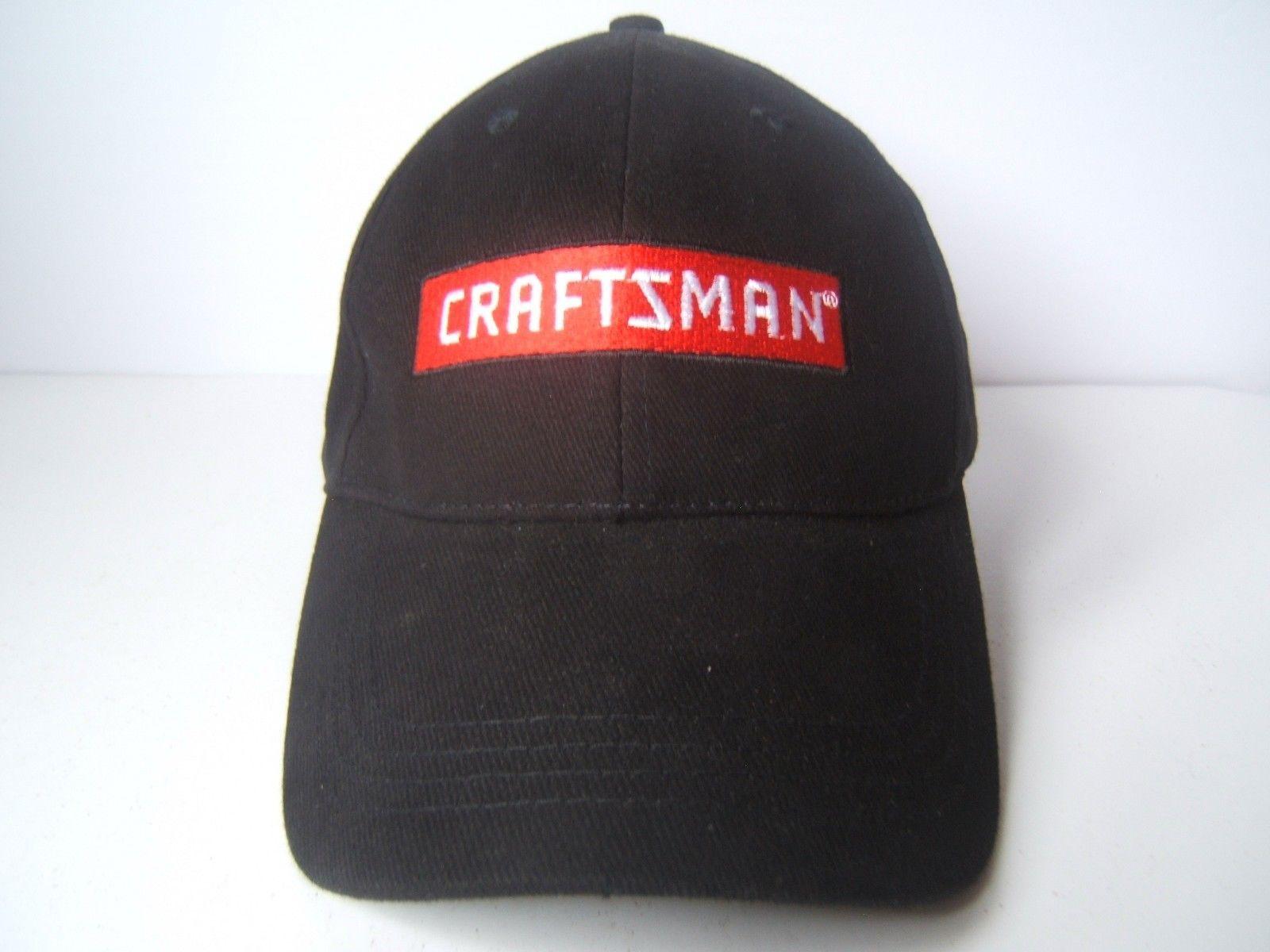 8a5716aa396 Craftsman Tools Hat Black Hook Loop Baseball and similar items