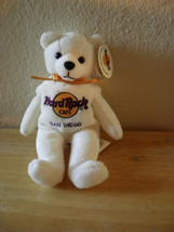 New With Tags Bean Bag Plush Hard Rock Cafe San Diego Cute - $5.26