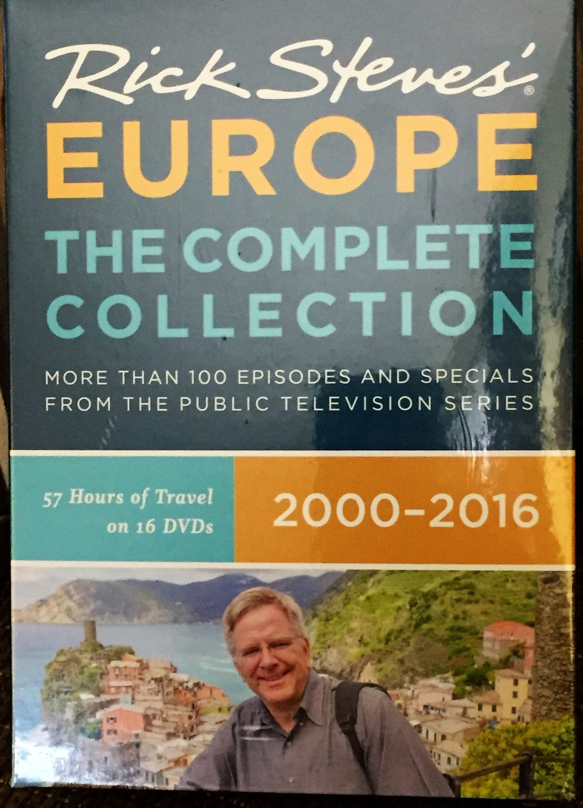 Rick Steves' Europe The Complete Collection 2000-2016 set of 16 DVDs sealed