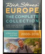 Rick Steves' Europe The Complete Collection 2000-2016 set of 16 DVDs sealed - $45.00