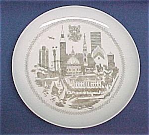Bing Grondahl Copenhagen Plate B & G Denmark Vintage