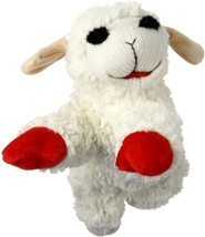 """Multipet Lambchop Plush Dog Toy 10"""" with Squeaker - £9.91 GBP"""