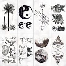 Unisex Waterproof Temporary Tattoo Sticker Body Art New Design Fake Tattoos - $5.99