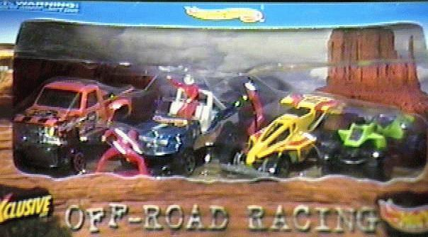 Hot Wheels Off Road Racing Exclusive Set
