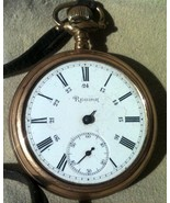 Antique Regina Pocket Watch for Parts or Repair - $34.50