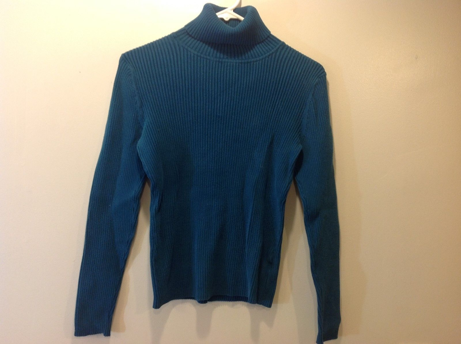 St. John's Bay Women's Blue Turtleneck Sz M