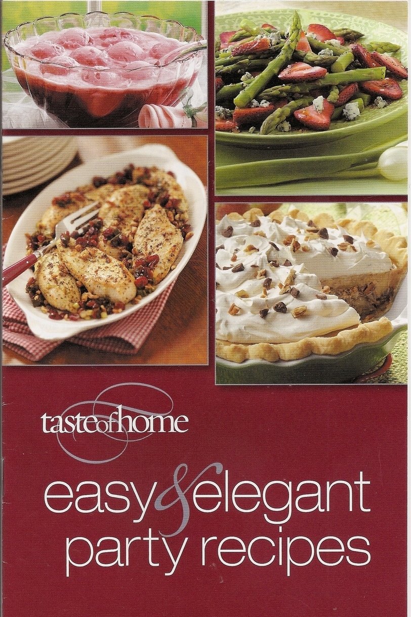 Easy & Elegant Party Recipes from Taste of Home Books